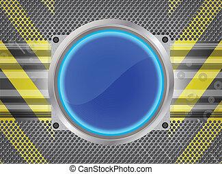 kék, gombol
