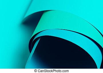 kék, háttér., dolgozat, neon