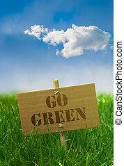 kék, kartondoboz, szöveg, ég, írott, zöld, bizottság, jár, fű, -ra