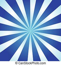 kék, kitörés