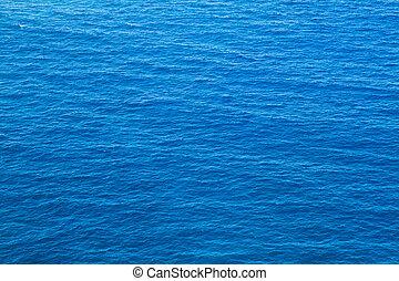 kék, mély tenger