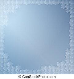 kék, rejtvény, háttér