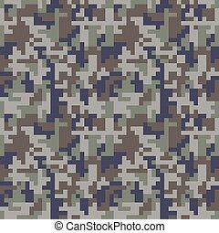 kék, seamless, camo, álcáz, pattern., fénykép