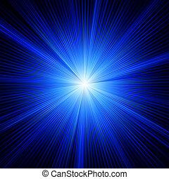 kék, szín, eps, burst., tervezés, 8
