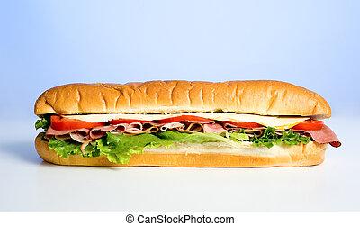 kék, szendvics
