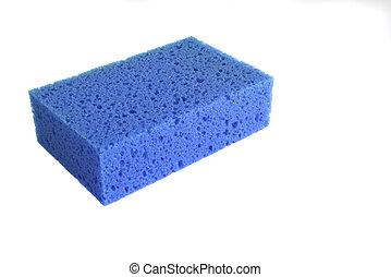 kék, szivacs