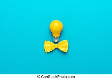 kék, türkiz, hely, gondolat, sárga, íj, gumó, háttér, csomó, másol, furfangos