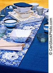 kék, tabletop