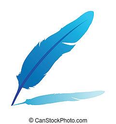 kék, tollazat