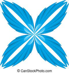 kék, wings.