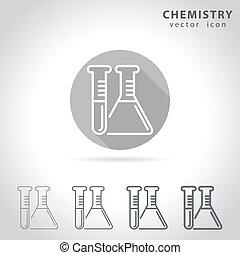 kémia, áttekintés, ikon