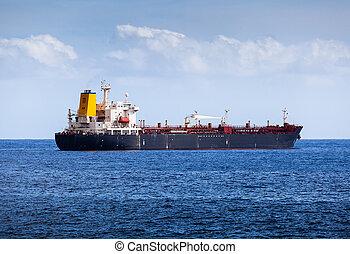 kémiai, óceán, atlanti-, tartálykocsi, nagy