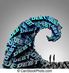 kényszer, adósság