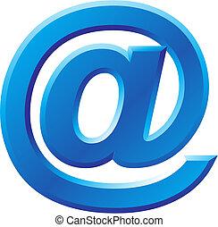 @, kép, jelkép, internet