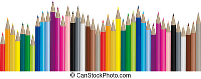 kép, szín, rudacska, -, vektor