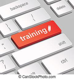 képzés, fogalom, computer billentyűzet
