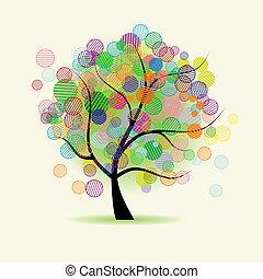 képzelet, művészet, fa