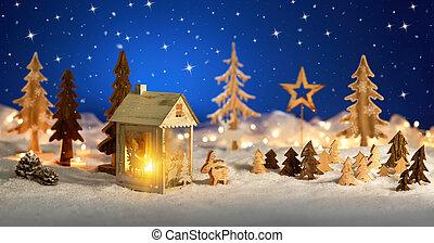 képzelet, színhely, karácsony