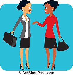 két, üzletasszony