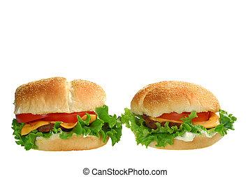 két, cheeseburgers