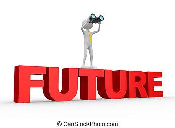 kétszemű, szó, jövő