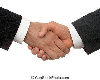 kézfogás, ügy