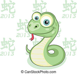 kígyó, év