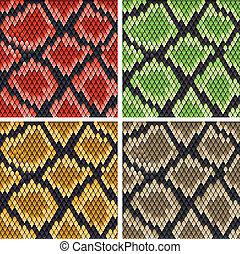 kígyó bőr