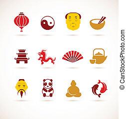 kína, gyűjtés, ikonok