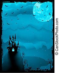 kísérteties, mindenszentek napjának előestéje, eps, horror., 8, zenemű