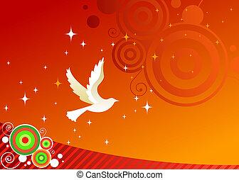 kíván, béke