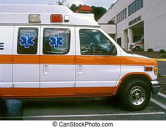 kórház, mentőszolgálat