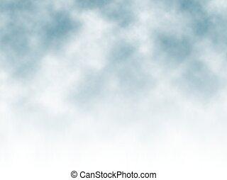 ködös, háttér