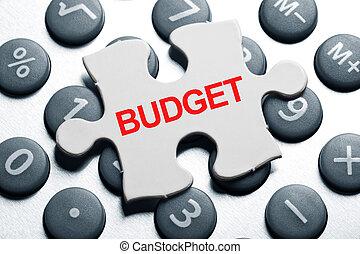 költségvetés
