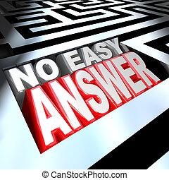 könnyen, nem, megfejt, szavak, felelet, útvesztő, probléma, legyőz, 3