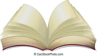 könyv, üres