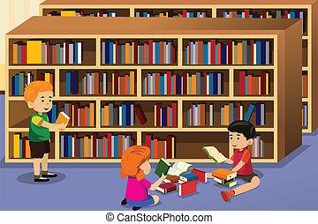 könyv, felolvasás, gyerekek