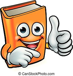 könyv, oktatás, karikatúra, kabala