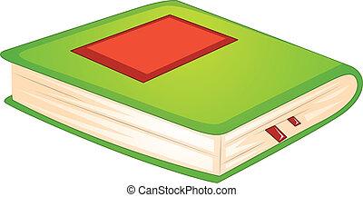 könyv, zöld
