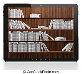könyvtár, digitális