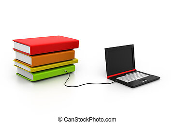 könyvtár, internet