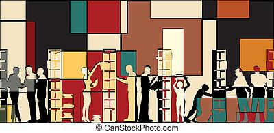 könyvtár, mózesi