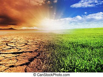 környezet, átalakuló