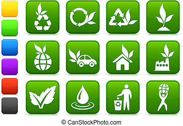 környezet, újonc, gyűjtés, ikon