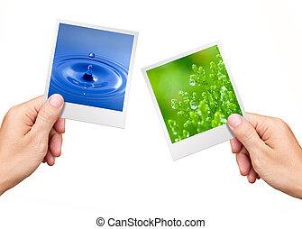 környezet, berendezés, természet, fogalom, víz, fénykép, hatalom kezezés