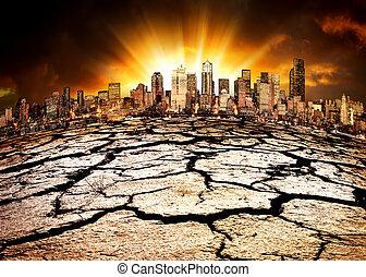 környezeti, csapás