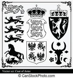körvonal, alapismeretek, címertani