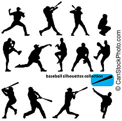 körvonal, baseball, gyűjtés