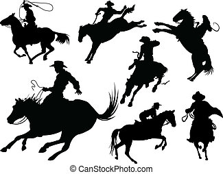 körvonal, cowboys