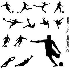 körvonal, futball